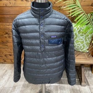 Patagonia Snap-T Pullover Down Jacket